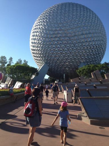 Spaceship Earth - aka The Big Golf Ball